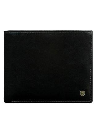 Мужское кожаное портмоне rovicky n01-rvt black