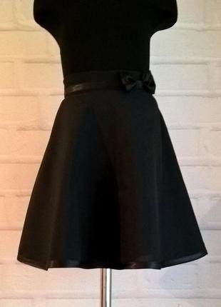 Черная школьная юбка. юбка для девочек. школьная форма. рр 122-140