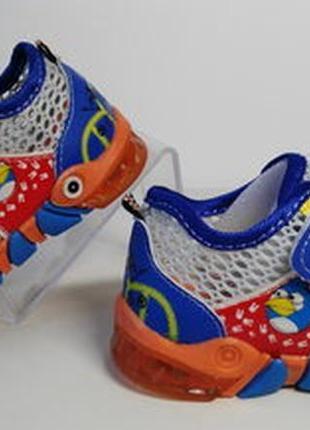 Летние кроссовки для мальчика р.23-14см стелька