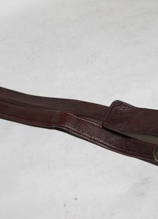 Прочный кожаный плечевой ремень на сумку/портфель