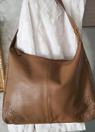 Большая кожаная сумка jane shilton.