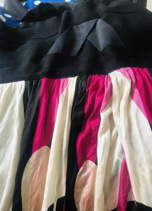 100% шелк amanda wakeley дизайнерське платье сарафан2 фото