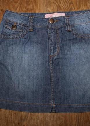 Джинсовая юбка 28 размер