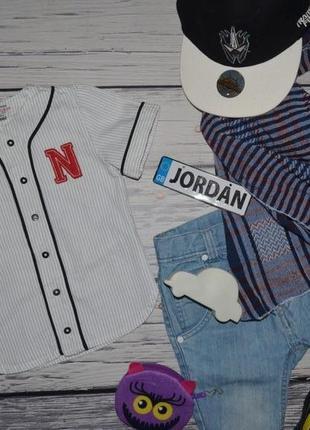 e27de55a6fe 1 - 2 года 92 см очень модная фирменная рубашка тенниска для мальчика  американка