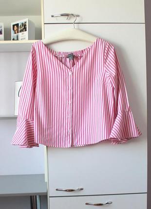Красивая рубашка в полоску от primark