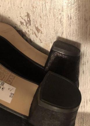 Новые натуральные фирменные туфли 37р./24 см5 фото