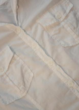 Oodji белая рубашка3 фото
