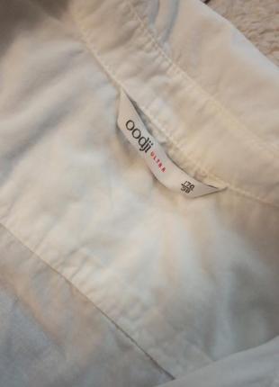 Oodji белая рубашка5 фото