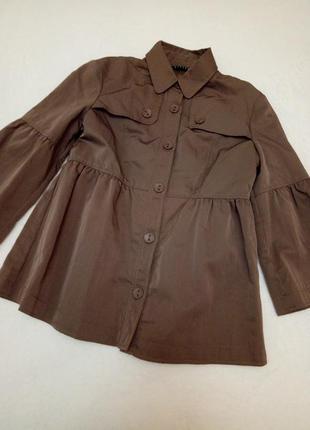 Легкая куртка плащ sisley