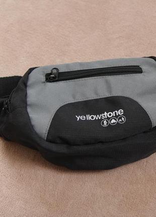 Фирменная бананка напоясная нагрудная сумка от yellowstone