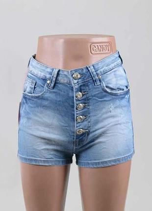 Модные женские шорты с высокой посадкой.
