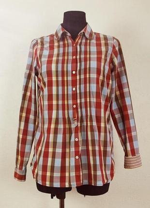 Винтажная женская рубашка tommy hilfiger #оксфордская рубашка