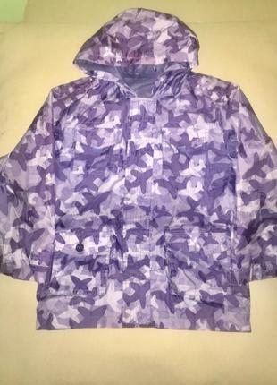 Летняя лёгкая куртка дождевик