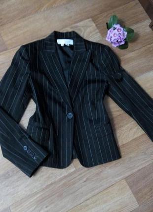 Пиджак жакет новый черный 46 размер zara