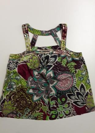 Фирменная блуза майка