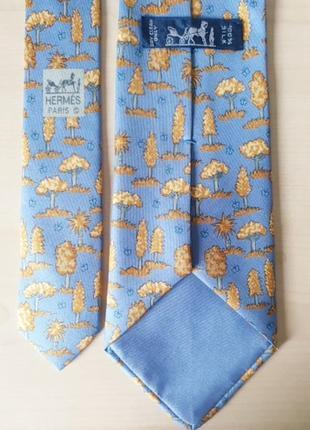 Hermes  7429 ha  (france)  шелковый галстук