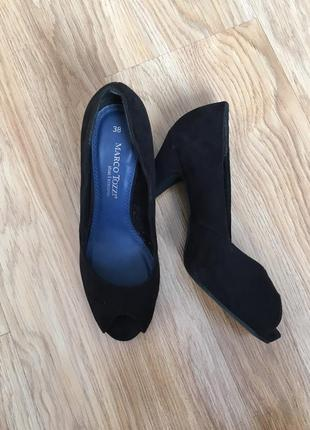 Туфли с откритим носком