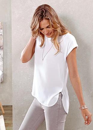 Мягкая и нежная футболка-блуза от tchibo(германия)