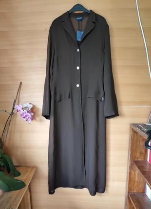 Летний пляжный кардиган / удлиненная блуза