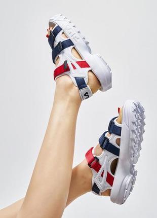 Fila disruptor sandals unisex очень красивые