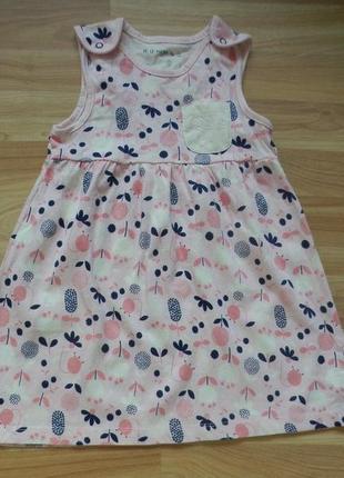 Фирменный сарафан платье nut mag малышке 1,5-2 года