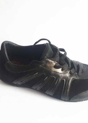 Шикарные кроссовки мокасины geox натур кожа замша р 38
