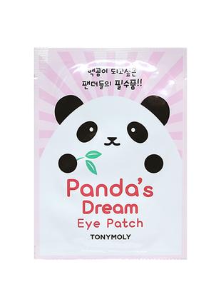 Патчи для глаз tony moly panda´s dream eye patch