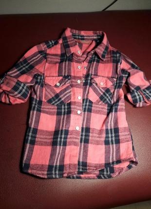 Рубашка для девочки 98 рост