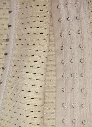 Утягивающий пояс корсет утягивающее нижнее белье3 фото