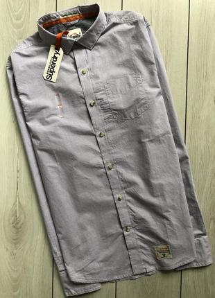 37b21f1368d Мужские рубашки Superdry 2019 - купить недорого мужские вещи в ...