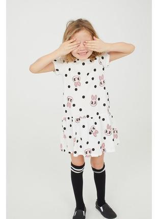 Красивое и легкое платье  h&m из хлопка