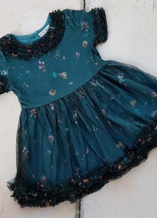 Платье на 9-18 мес. смотрите все фото, большой выбор детской одежды