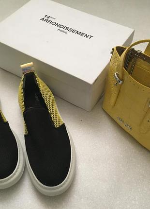 Слипоны,туфли,мокасины сліпони 14èmearrondissement.оригінал.60%знижка