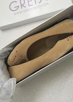 Балетки,туфли,балеткі.greisy.італія.