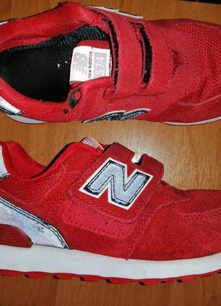 Оригинальные кроссовки new balance размер 31