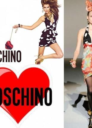 Шикарное платье moschino 42 италия s