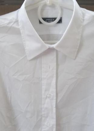James & nicholson классическая женская рубашка из смесовых тканей easy care
