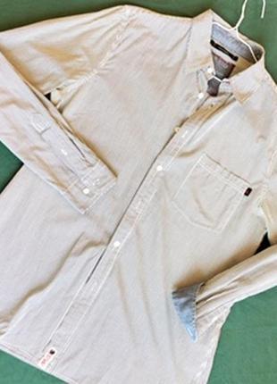 Стильная рубашка в полоску musto