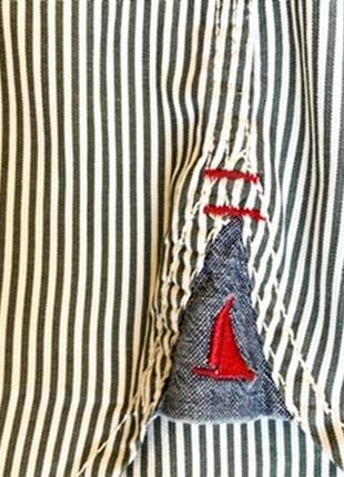 Стильная рубашка в полоску musto4 фото