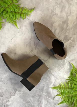 Стильные ботинки на устойчивом каблуке  sh1920084 h&m