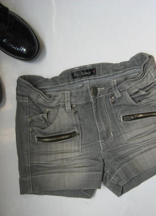 Джинсовые шорты kira plastinina