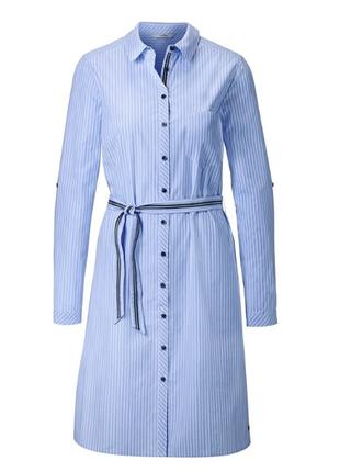 Обалденное платье, 100% био-хлопок, tchibo, размеры 42,44,46 евро)3 фото