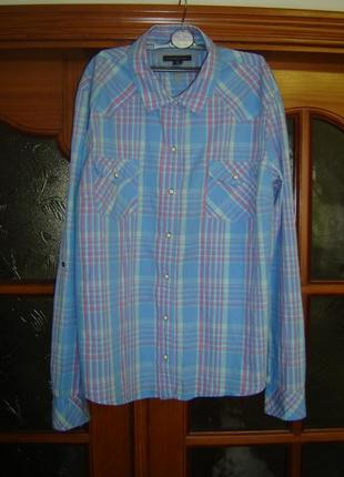 Рубашка tommy hilfiger размер xl