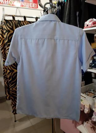 Рубашка с коротким рукавом breeze на мальчика от 4до 7 лет3 фото