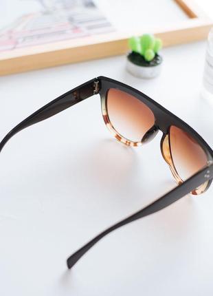 Бестселлер эффектные очки яркий дизайн градиентные линзы 100% uv защита! отличная цена!2 фото