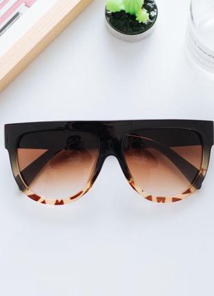 Бестселлер эффектные очки яркий дизайн градиентные линзы 100% uv защита! отличная цена!