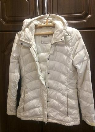 Демисезонная куртка плащ reebok, оригинал!