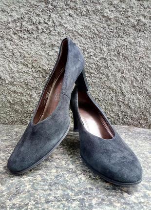 Туфли замшевые германия