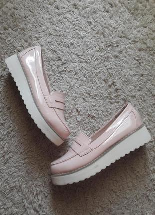 Туфли лоферы балетки мокасины