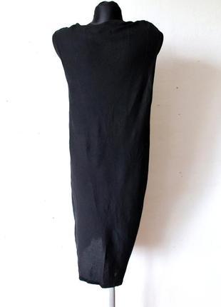 Платье шелк  massimo dutti4 фото